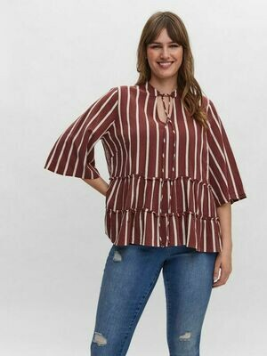 Smuk bluse fra Vero Moda Curve