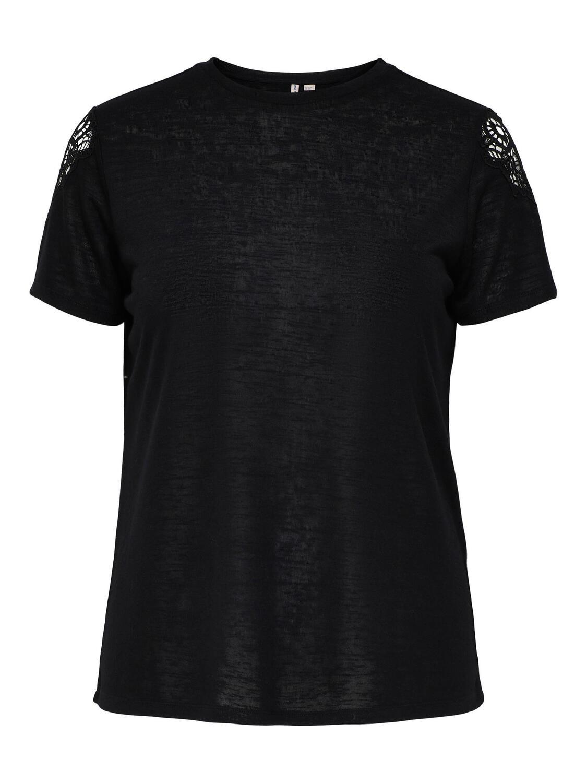 T-shirt med blonde fra Carmakoma