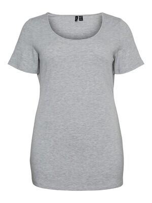 Sød basis t-shirt fra Carmakoma
