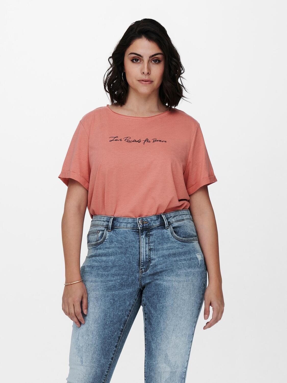 Sød t-shirt fra Carmakoma
