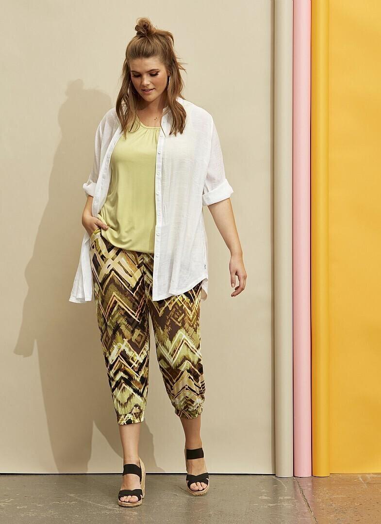 Bløde capri bukser fra Zhenzi
