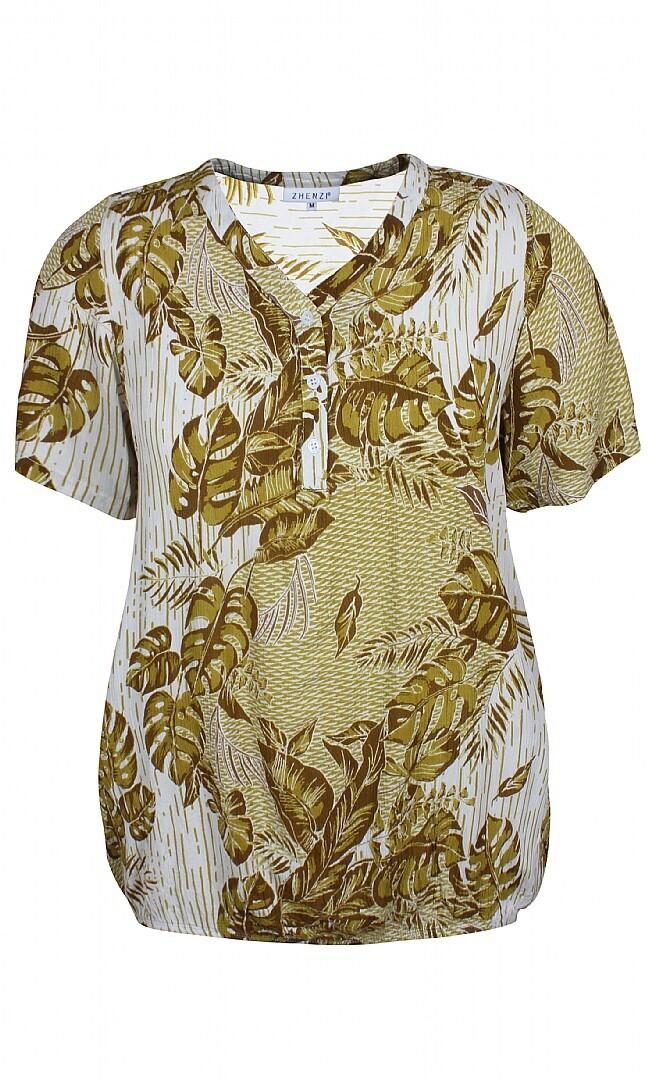 Printet bluse fra Zhenzi