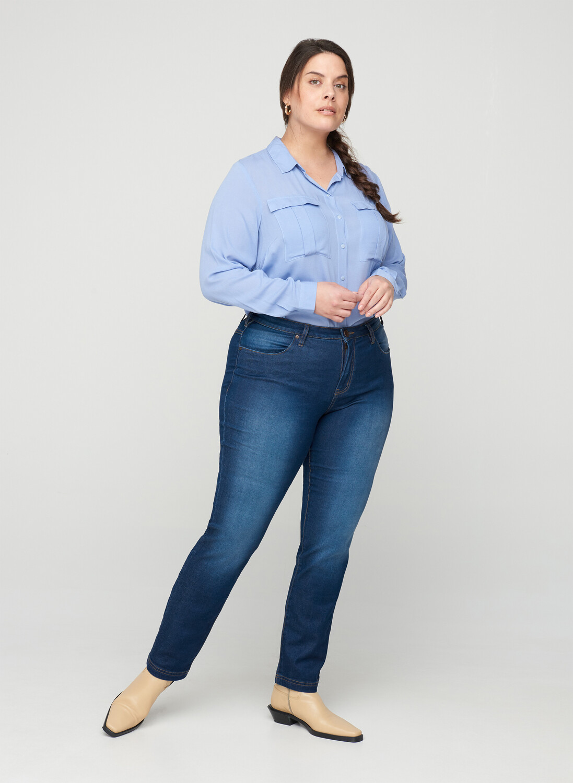 Smarte jeans fra Zizzi