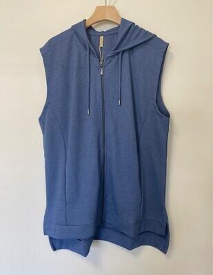 Lækker hoodie vest fra Cassiopeia