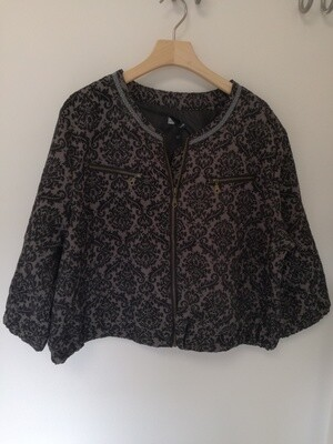 Mønstret bolero jakke fra Cassiopeia