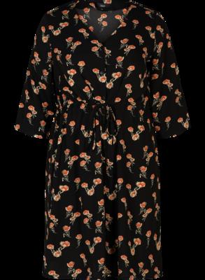 Sød blomstret kjole fra Zizzi