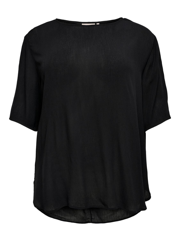 Enkel og fin t-shirt fra Carmakoma