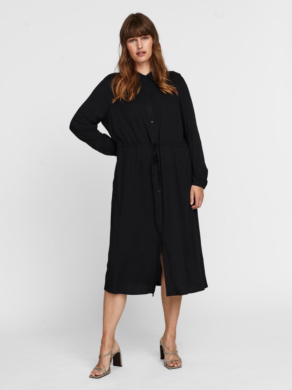 Elegant skjorte kjole fra Vero Moda Curve