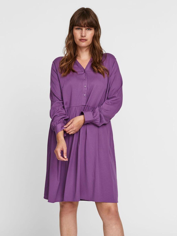 Feminin kjole fra Vero Moda Curve