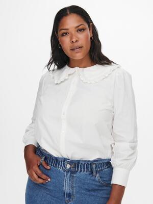 Skjorte med sød krave fra Carmakoma