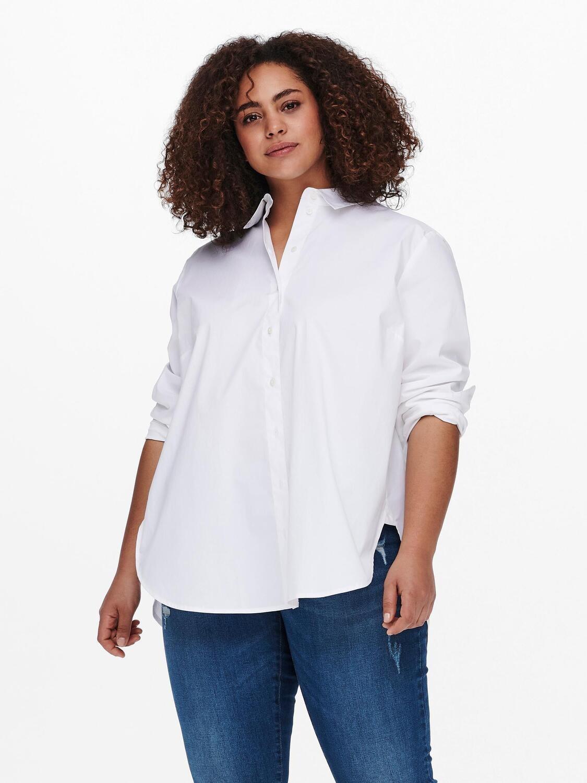 Klassisk hvid skjorte fra Carmakoma