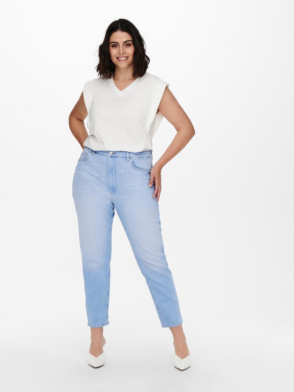 Super fine mom-jeans fra Carmakoma