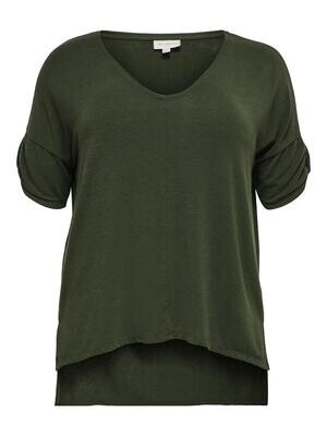 Fin jersey T-shirt fra Carmakoma