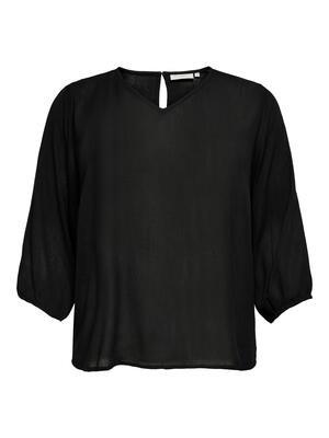 Enkel og fin bluse fra Carmakoma