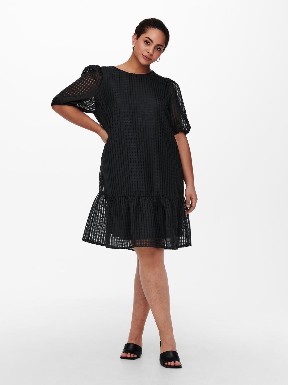 Cool knælang kjole fra Carmakoma