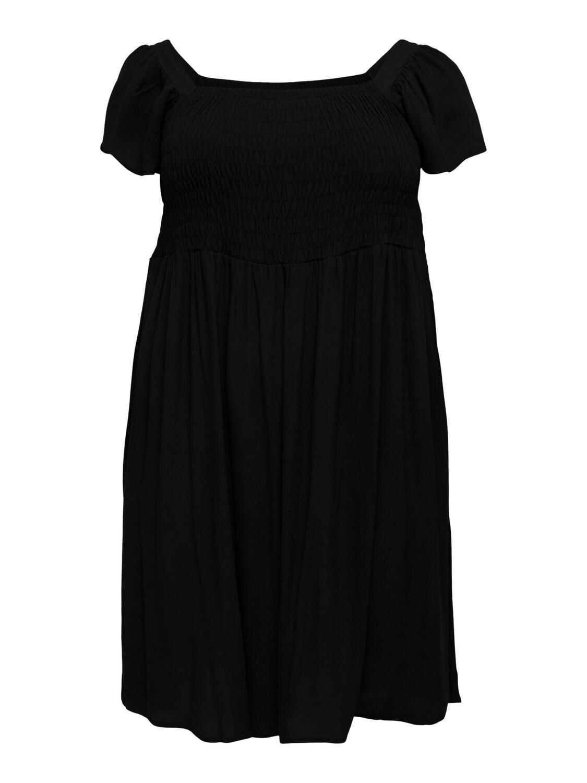Kjole med smock fra Carmakoma