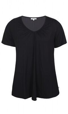 Enkel sort t-shirt fra Zhenzi