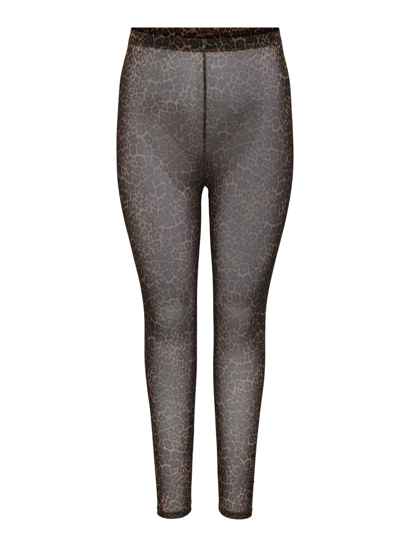 Cool leo mesh leggings fra Carmakoma