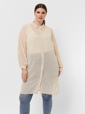 Elegant skjortekjole fra Vero Moda Curve