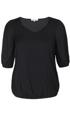 Sød bluse med elastikkant fra Zhenzi