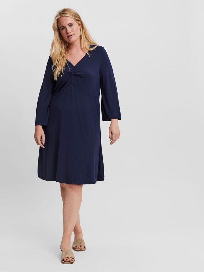 Flot kjole med 3/4 ærmer fra Vero Moda Curve