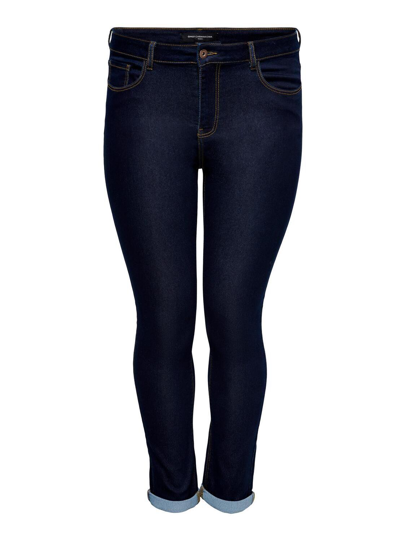 Mørkeblå jeans fra Carmakoma