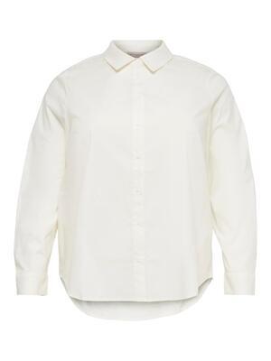 Fin hvid basis skjorte fra Carmakoma