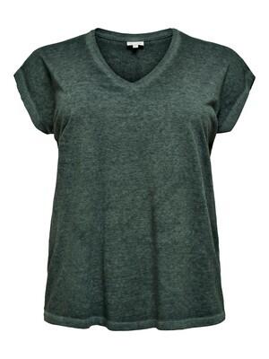 Fin basis t-shirt fra Carmakoma