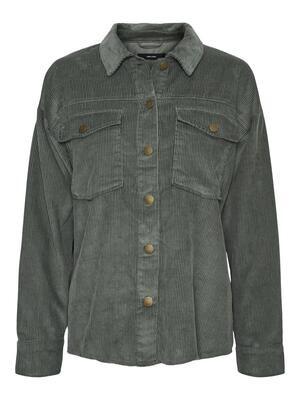 Fløjlsskjorte fra Vero Moda Curve