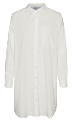 Lang hvid skjorte fra Vero Moda Curve