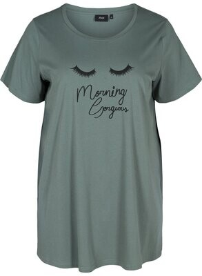 Pyjamas t-shirt fra Zizzi