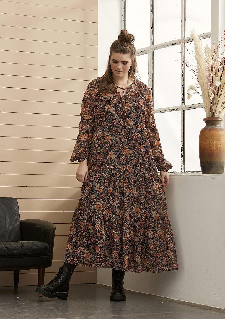 Flot kjole med blomsterprint fra Zhenzi