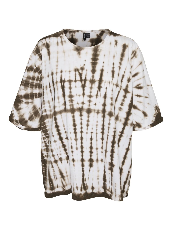 Tie-Dye t-shirt fra Vero Moda Curve