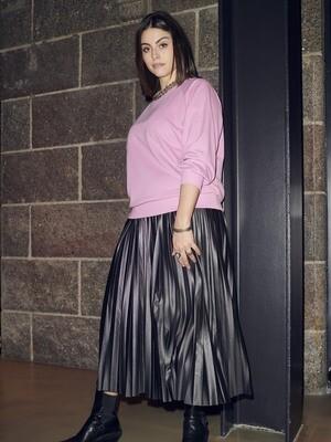 Fin plisseret nederdel fra Carmakoma