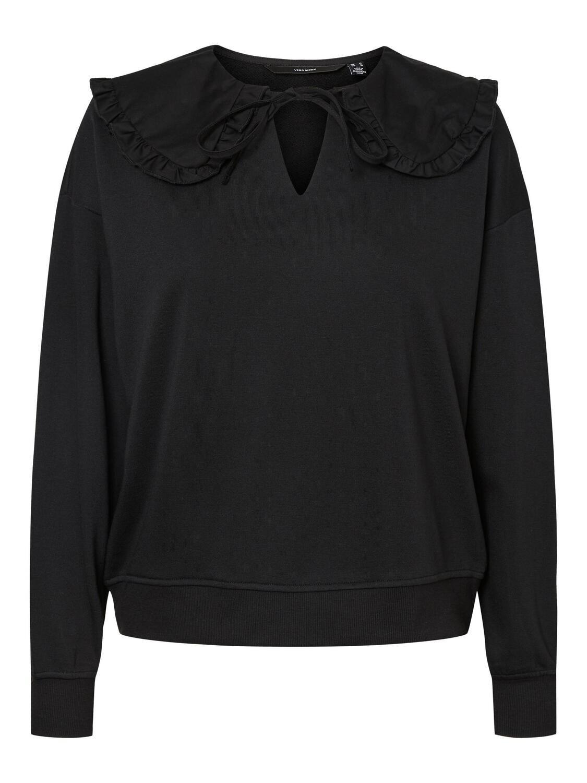Sweatshirt med oldemorkrave fra Vero Moda Curve