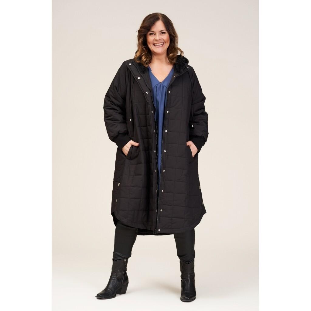 Dejlig, lang jakke fra Gozzip