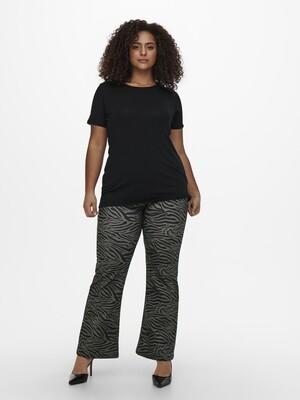 Flared bukser med print fra Carmakoma