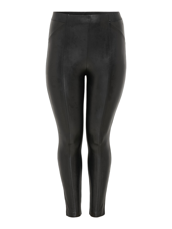 Leggings i skind-look fra Carmakoma