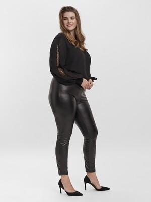 Coatede leggins med fleece fra Vero Moda Curve