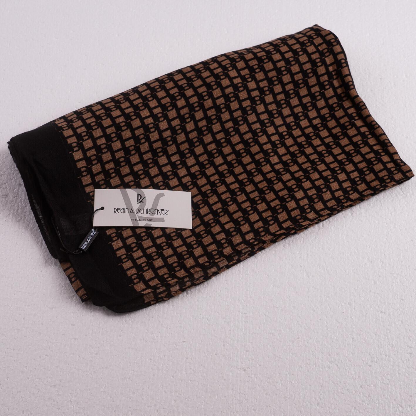 Lækkert mønstret viskose-tørklæde