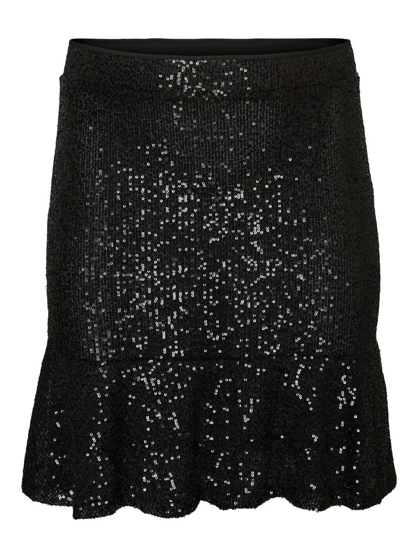Paillet-skirt fra Vero Moda Curve