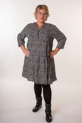 Fin mønstret kjole/tunika fra Christy/Paris