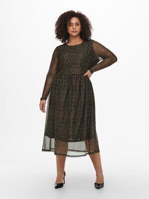 Super fin mesh kjole fra Carmakoma