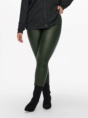 Grønne coatede bukser fra Carmakoma