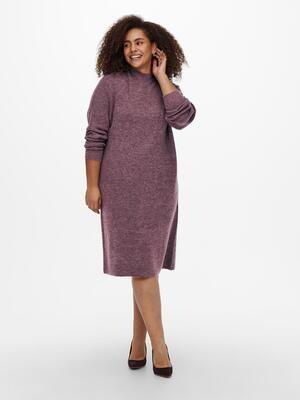 Super sød strik-kjole fra Carmakoma