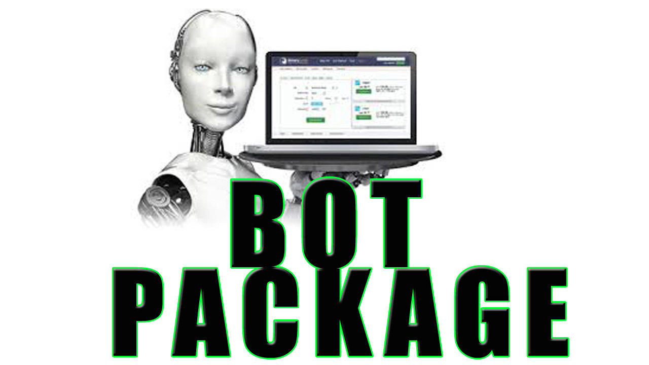 Binary Bot Package : Automated trading strategies using Binary Bot