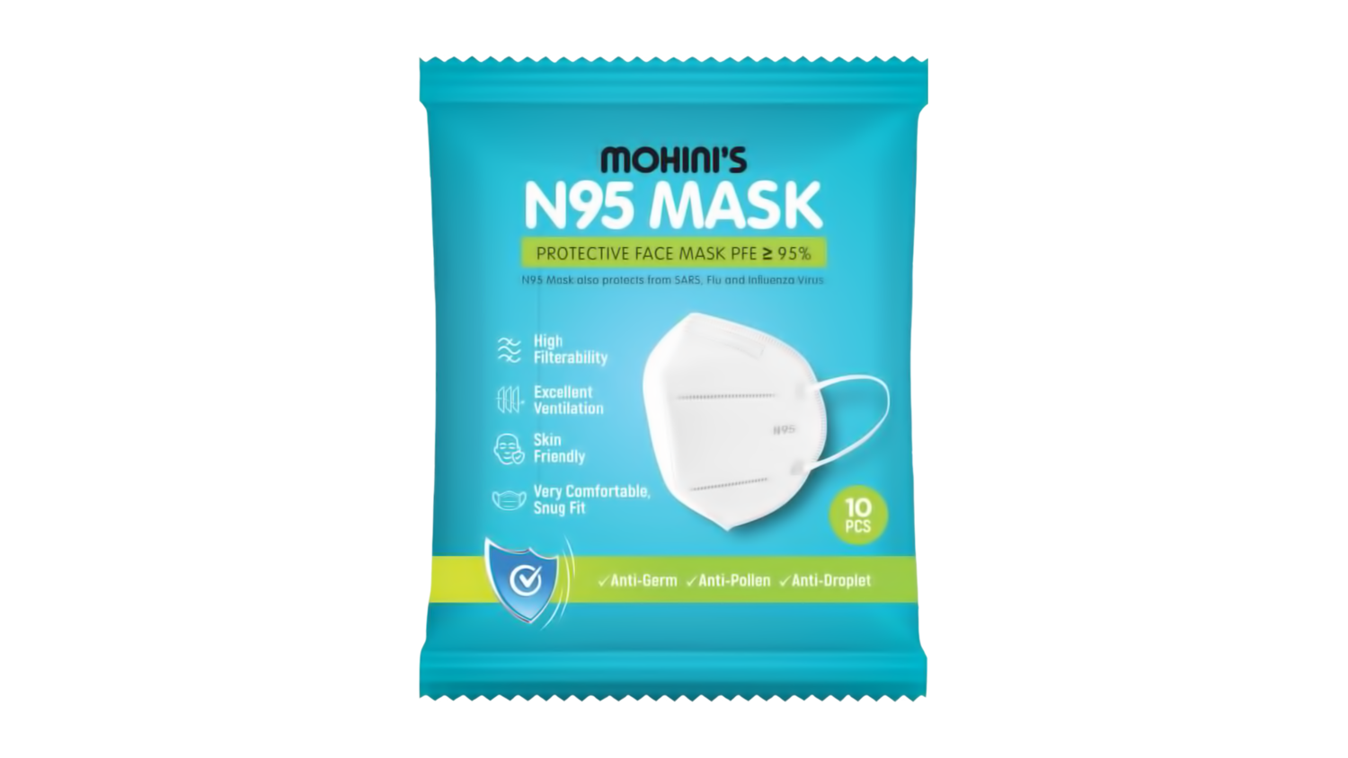 N95 Masks (10 Pack)