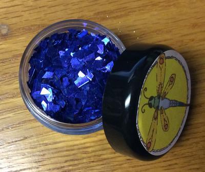 Royal Blue Chunky Glass Glitter