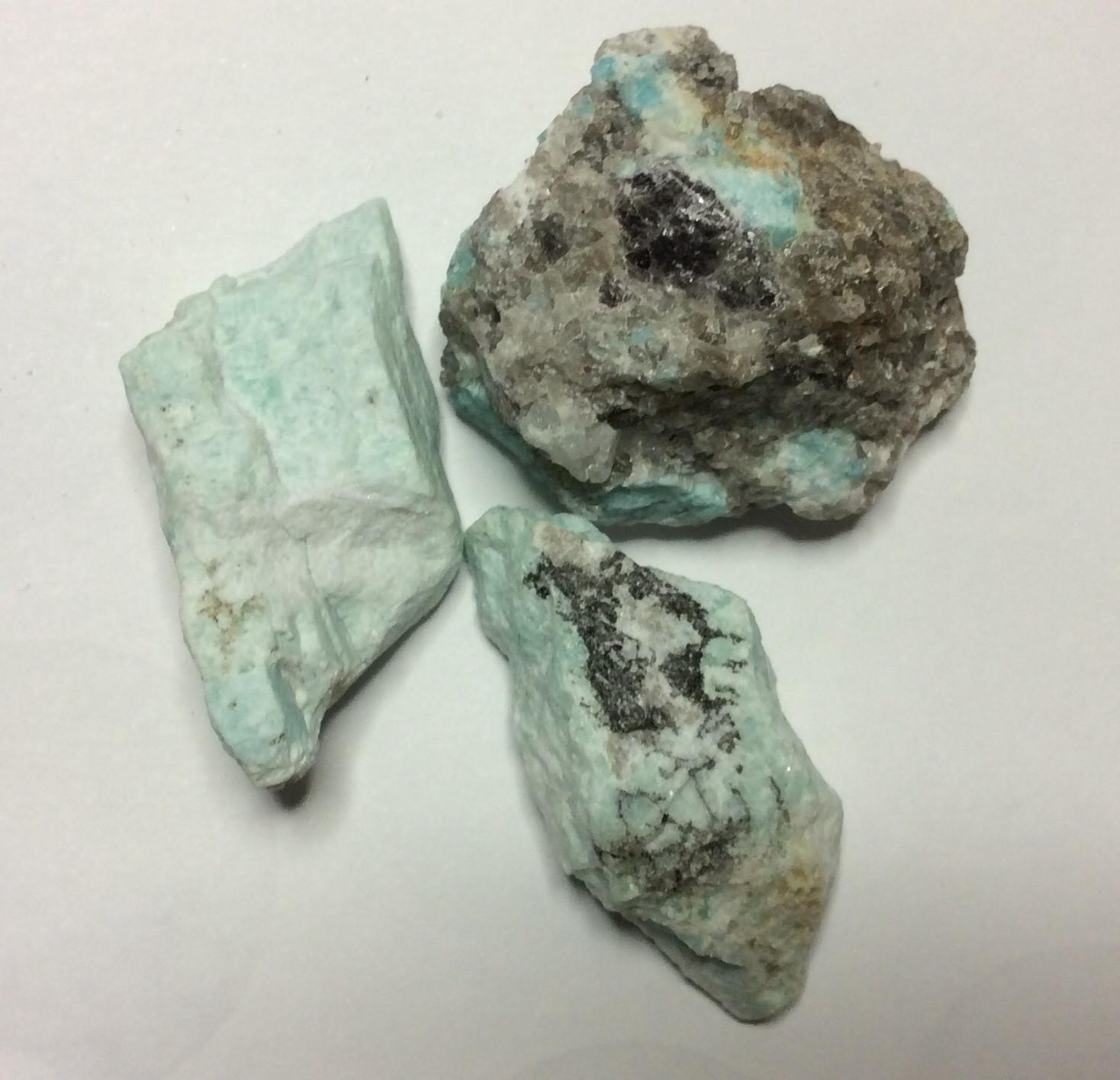 Raw Amazonite Stones 120gr