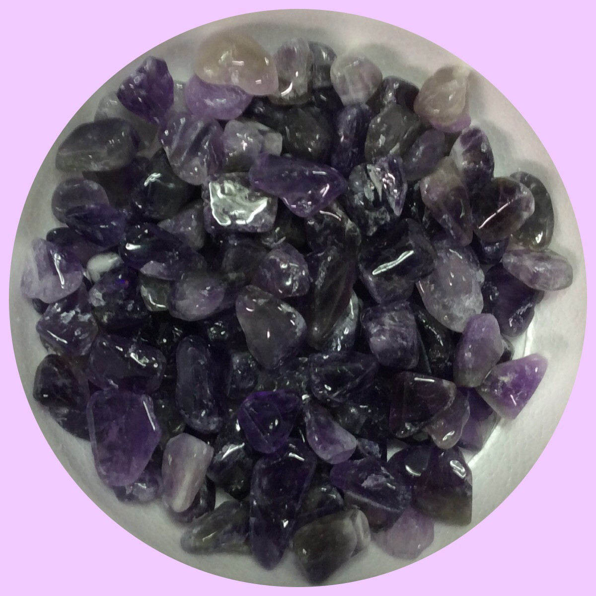 Real Amethyst Tumbled Stone Irregular Shaped 150+gr (NEW) Real Amethyst